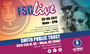 FSG Live Show Flyer